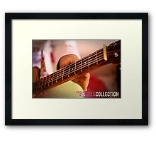 My Guitar is my BFF Framed Print