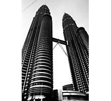 Twin Towers @ Kuala Lumpur Photographic Print