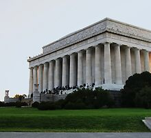 Lincoln Memorial by Cityside Photography