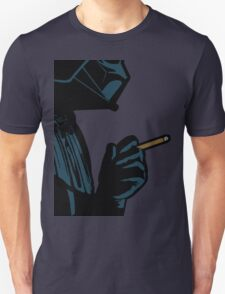 Darth Vader Smoking Cigarette Unisex T-Shirt