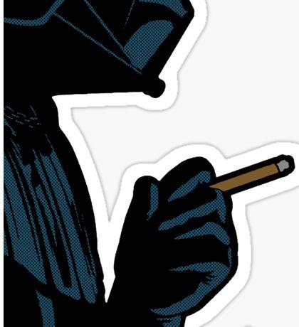 Darth Vader Smoking Cigarette Sticker
