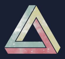 Pastel Universe Penrose Triangle by cocolima