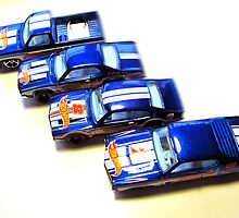 Cars of the 1970's .... Toy Cars! by RustedStudio