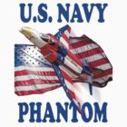 U.S. Navy Phantom Tee Shirt by Colin J Williams Photography