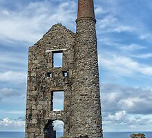 Carn Galver Mine, Cornwall by Judi Lion