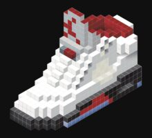 Air Jordan 5 Retro Pixel 3D by cocolima