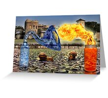 Spicy Water Greeting Card