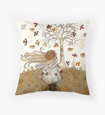 There is a Season for Everything Throw Pillow
