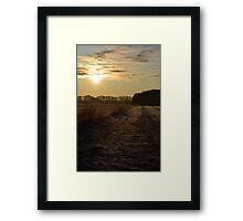 As the Sun Rises # 1 Framed Print