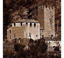 Chateaux d'Aoste ~ Part Two Photographic Print