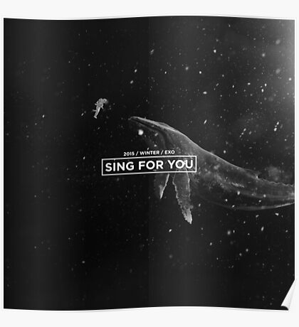EXO 'Sing For You' Space Edition Poster