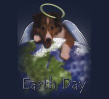 Earth Day Angel Sheltie Kids Clothes