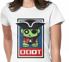 Pirate Zombie O'bot 1.1 Womens Fitted T-Shirt