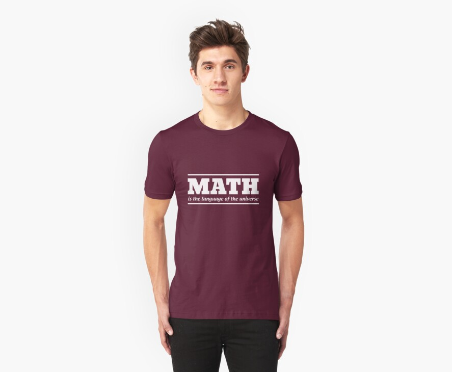 Math is the language of the universe by trends