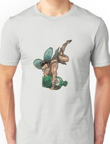 SheVibe Presents The Sliquid Dean Sprite - Green Unisex T-Shirt