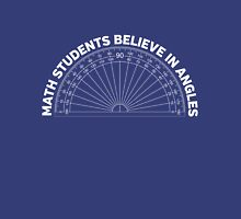 Math Students Believe in Angles Unisex T-Shirt