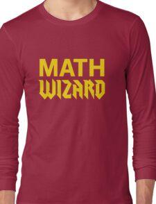 Math Wizard Long Sleeve T-Shirt