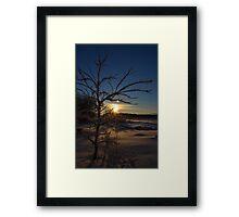 Minnesota in February # 3 Framed Print