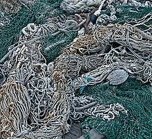 Fishing Net & Gear by Scott Johnson