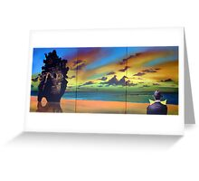 Watcher on the Beach Greeting Card
