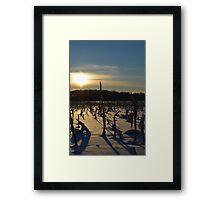 Minnesota in February # 7 Framed Print