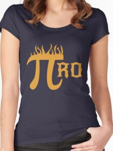 Pi Ro Women's Fitted Scoop T-Shirt