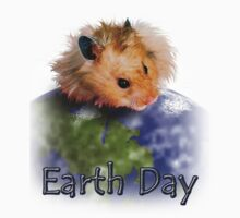 Earth Day Hamster One Piece - Long Sleeve