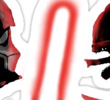 Darth Vader vs Alien Sticker