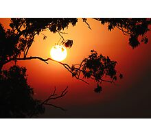Fiery Sunrise  Photographic Print