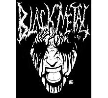 Black Metal Corpse Photographic Print