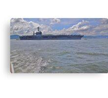 Aircraft Carrier Canvas Print