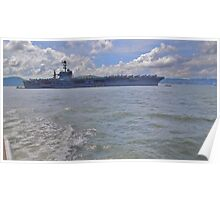 Aircraft Carrier Poster
