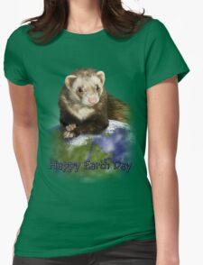 Happy Earth Day Ferret T-Shirt