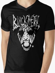 Black Metal Corpse Mens V-Neck T-Shirt