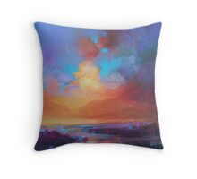 CMY Sky Study 2 Throw Pillow