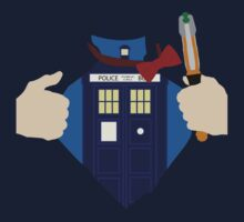 Truth, Justice and... Doctor Who? Kids Clothes