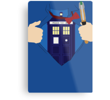 Truth, Justice and... Doctor Who? Metal Print