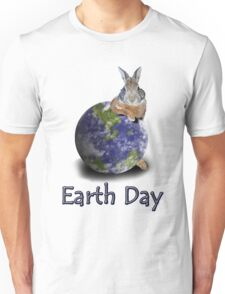 Earth Day Bunny Rabbit Unisex T-Shirt