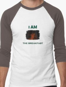 I am the breakfast - Breaking Bad Walt JR Men's Baseball ¾ T-Shirt