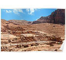 Petra City. Poster