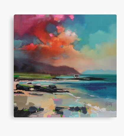 Rum From South Uist Canvas Print