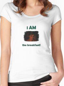 I am the breakfast – Breaking Bad Walt JR Women's Fitted Scoop T-Shirt