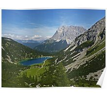 Sebensee and Zugspitze Poster