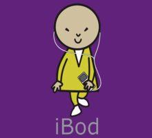 Bob iBod iPod T-shirt by retromoomin