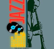 A jazz-O-logy affiche by lscarpinati