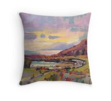 Arran from The Kyles of Bute Throw Pillow