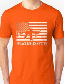 Black Rifles Matter Unisex T-Shirt