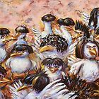 Birds in Wigs by Cindy Schnackel