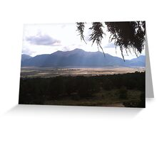 Mt Princeton Collegiate Peaks Colorado Greeting Card
