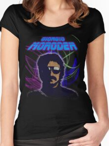Moroder Women's Fitted Scoop T-Shirt